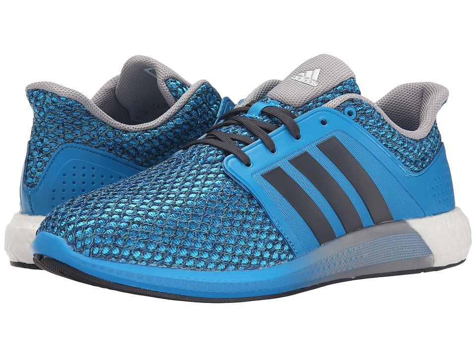 adidas Running - Solar Boost (Solar Blue 2/Dark Grey/Mid Grey) Men's Running Shoes