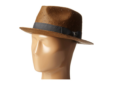 Brixton - Baxter (Brown/Charcoal) Traditional Hats