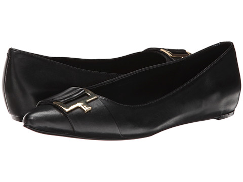 Calvin Klein - Bama (Black Cow Roma) Women's Slip on Shoes