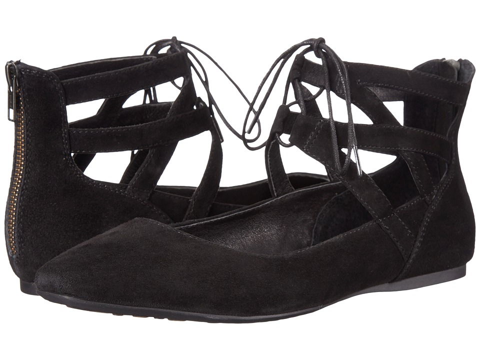 Born - Glam (Black Suede) Women's Flat Shoes