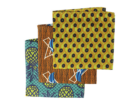 Scotch & Soda - Amazon Beach Printed Handkerchiefs - Set Of 3 (Multi) Scarves