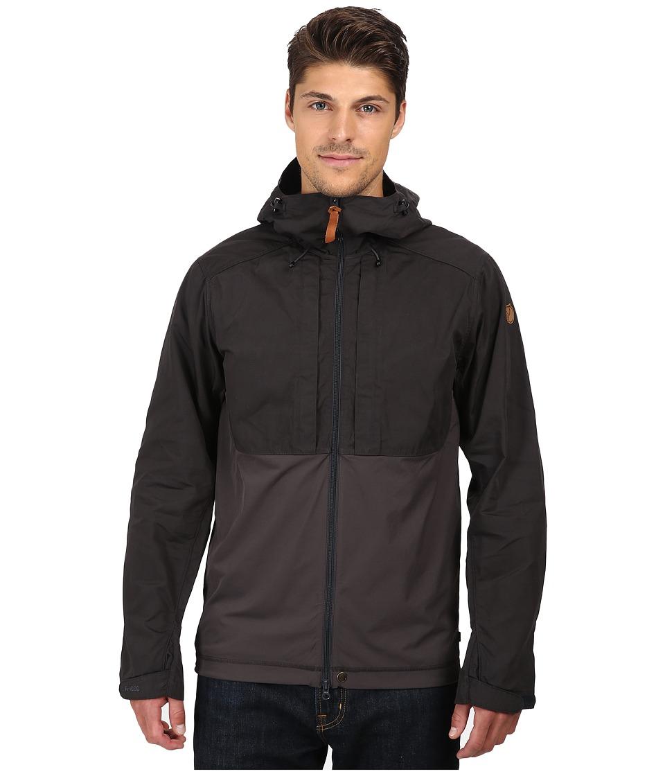 Fj llr ven - Abisko Lite Jacket (Dark Grey/Dark Grey) Men's Coat