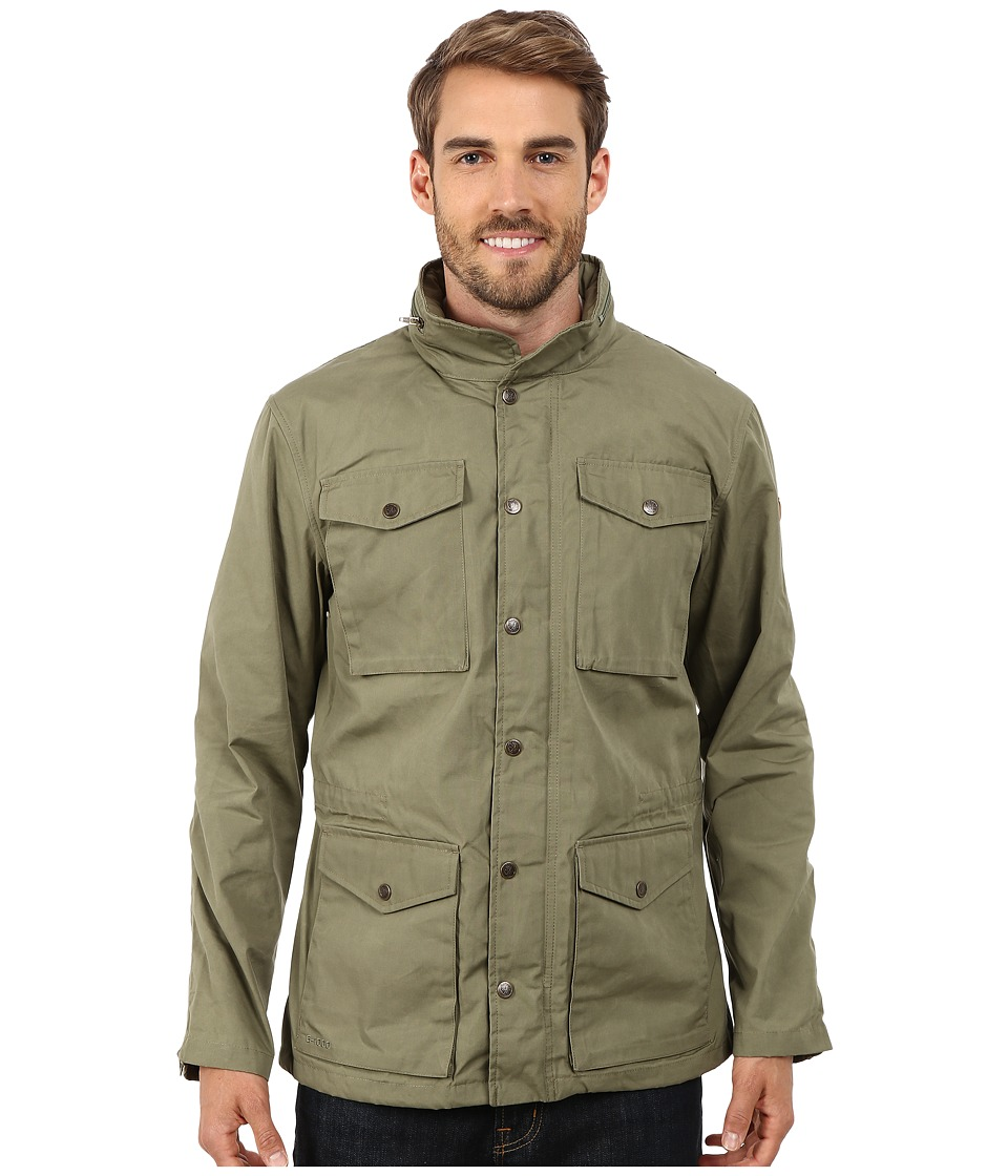 Fjallraven - Raven Jacket (Green) Men's Coat