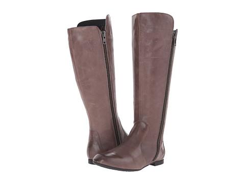 Born - Pruitt (Elephant/Grey Full Grain Leather) Women's Zip Boots
