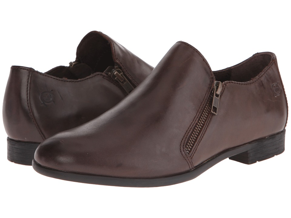 Born - Galenka (Espresso/Dark Brown Full Grain Leather) Women's Shoes