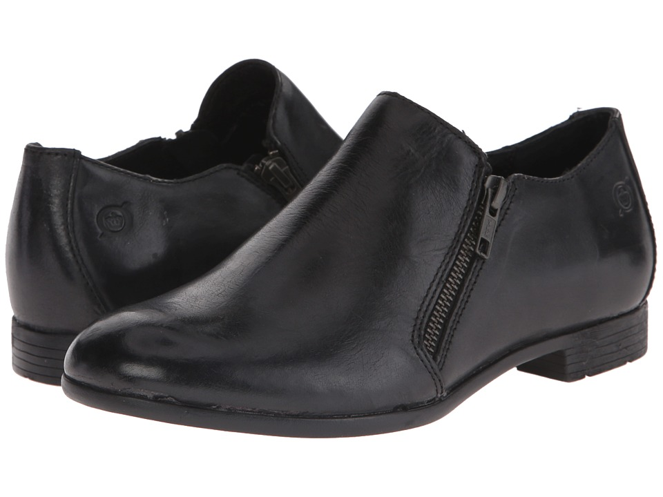 Born - Galenka (Black Full Grain Leather) Women's Shoes