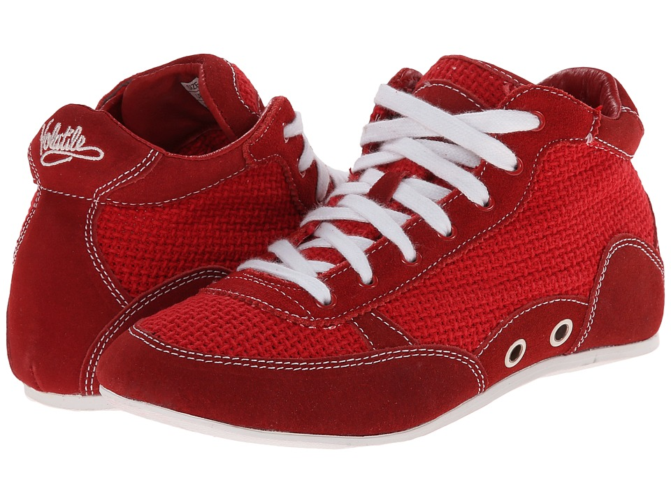 VOLATILE - Boxer (Red) Women's Lace up casual Shoes