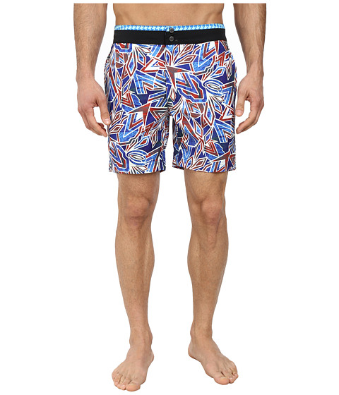 Robert Graham - Surf Rider Swimsuit (Multi) Men's Clothing