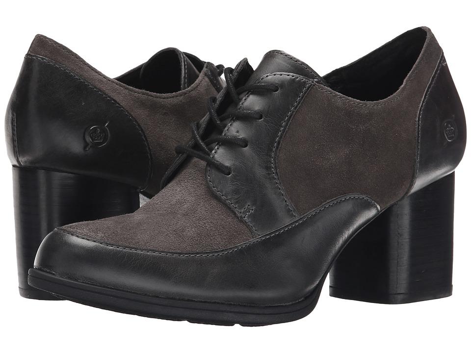 Born - Gamber (Dark Grey/Grey Combo) High Heels