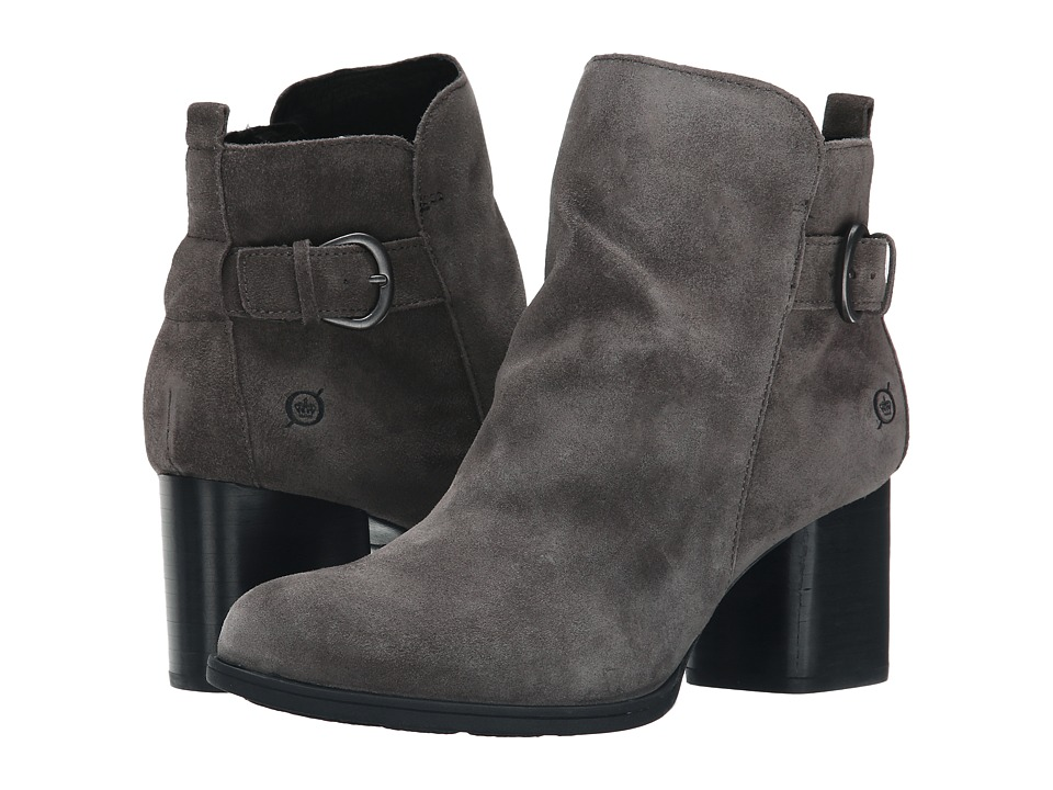 Born - Gillian (Stone/Grey Suede) Women's Boots