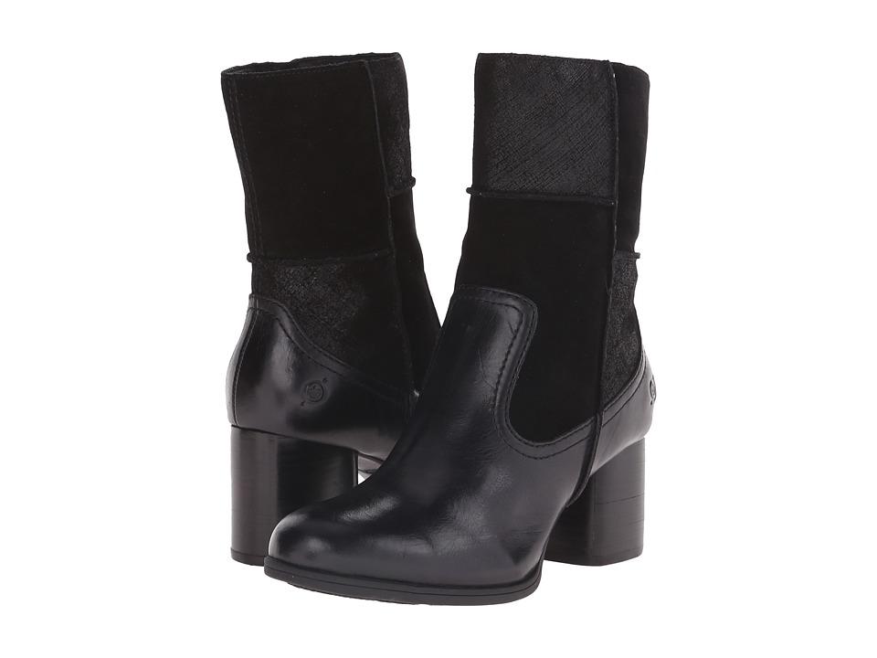 Born - Hayley (Black/Black/Black Combo) Women's Boots