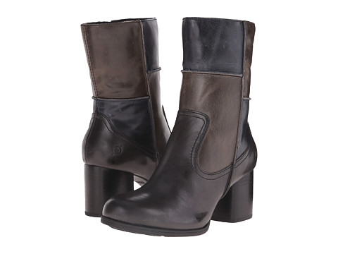 Born - Hayley (Dark Grey/Grey/Navy Combo) Women's Boots
