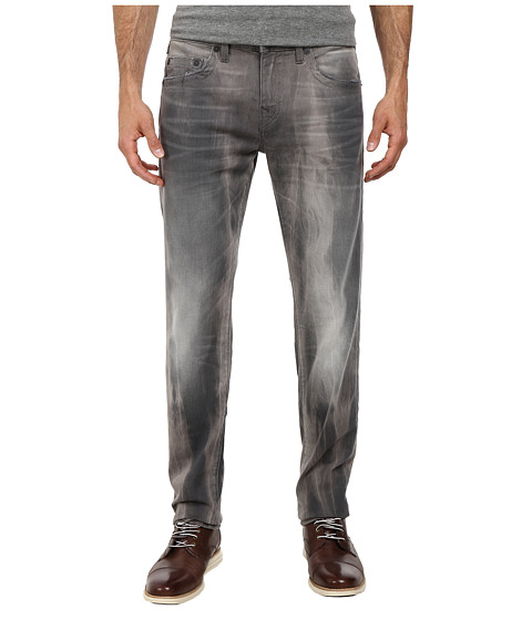 True Religion - Geno Grey Denim in Rough Terrain (Rough Terrain) Men