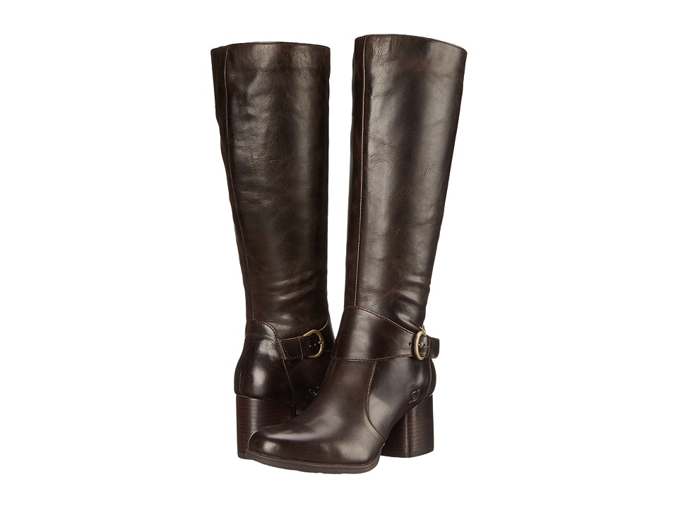 Born - Michele (Mushroom/Dark Brown Full Grain Leather) Women's Boots