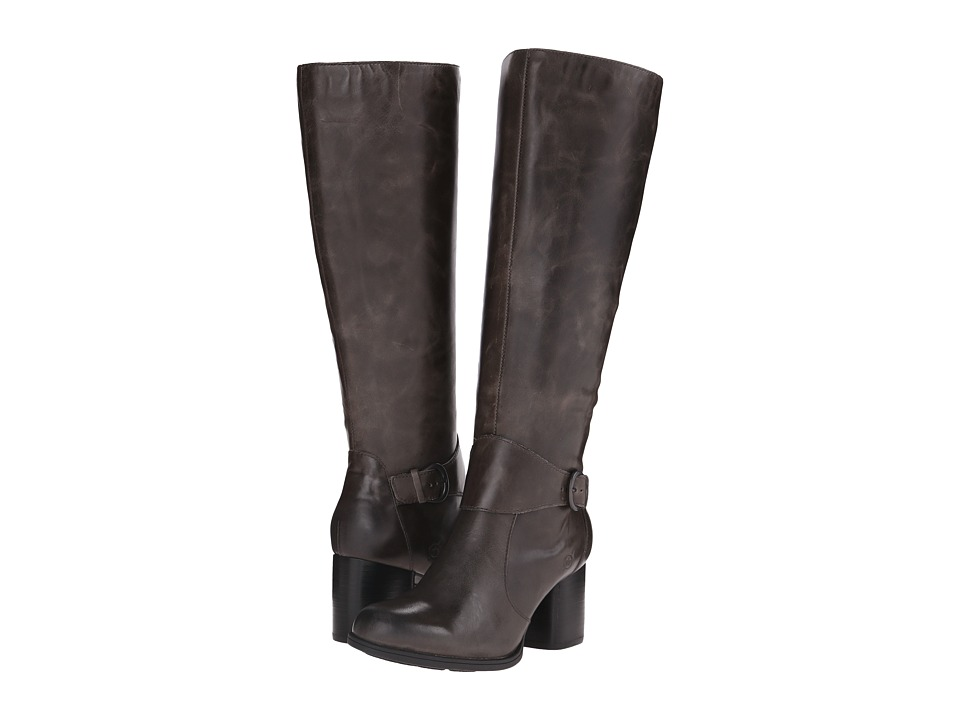 Born - Michele (Grey Full Grain Leather) Women's Boots
