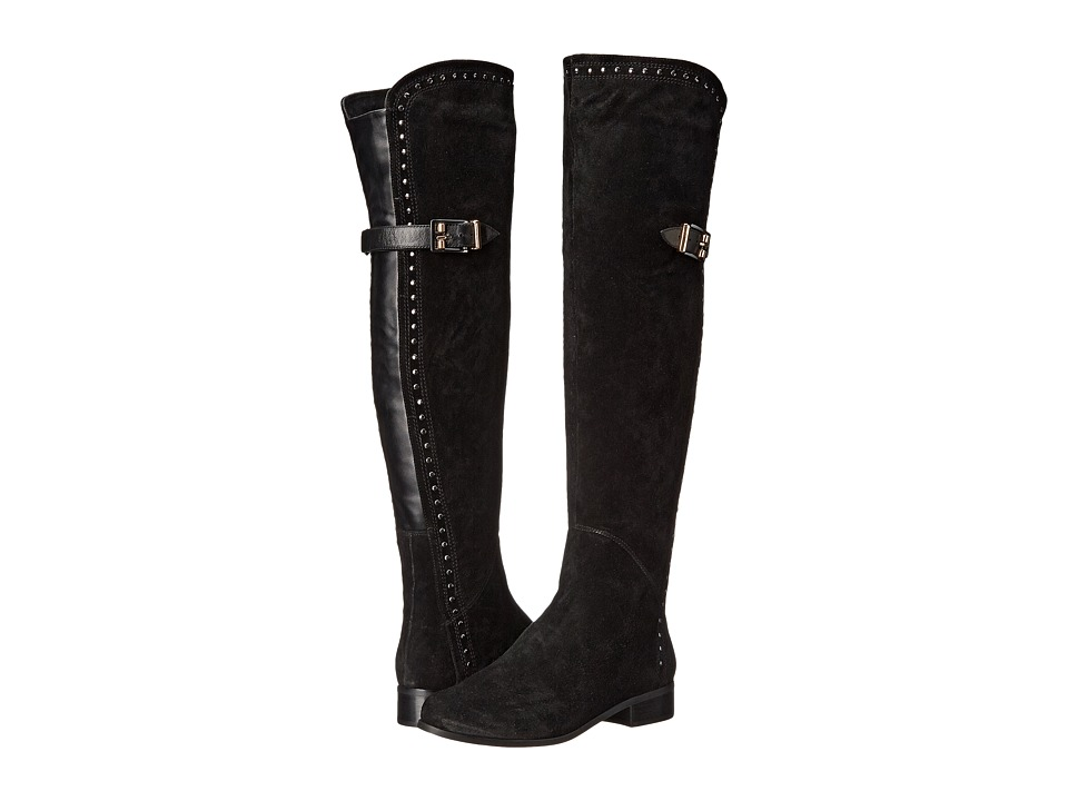 Vaneli - Raysel (Black Nival Suede/Black Elasticized Suede) Women's Boots