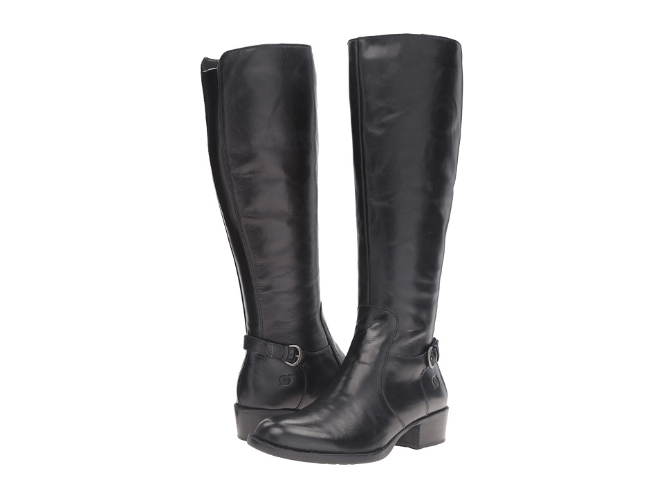 Born - Helen (Black Full Grain Leather) Women's Boots