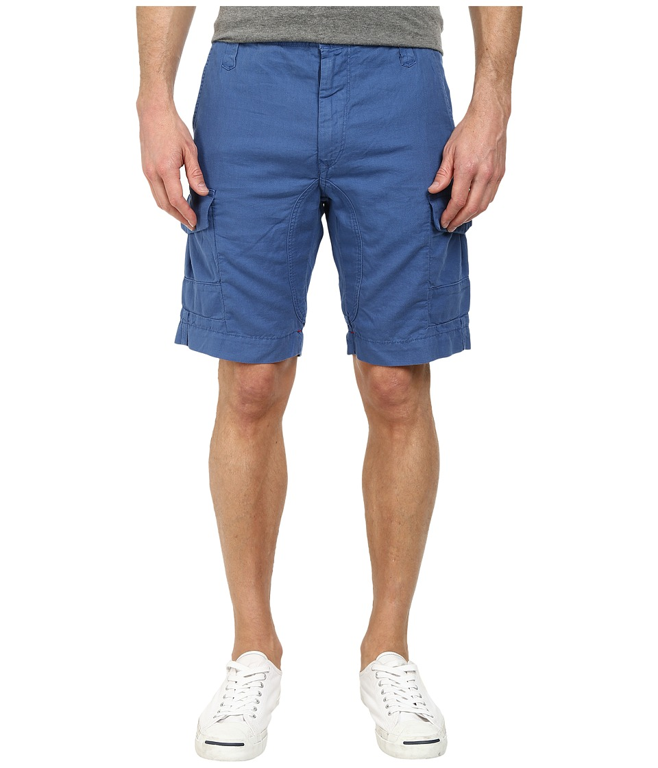 Robert Graham - Hiker Woven Shorts (Blue) Men's Shorts