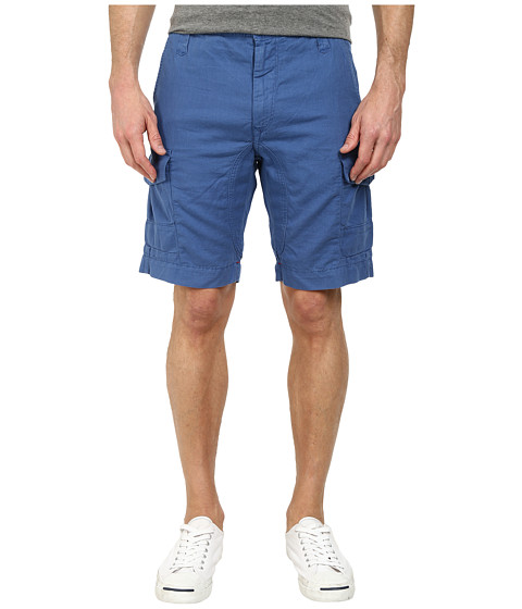 Robert Graham - Hiker Woven Shorts (Blue) Men