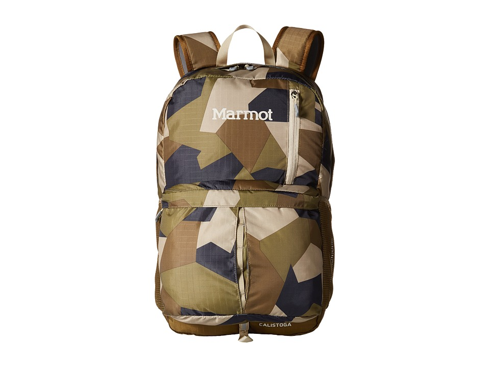 Marmot - Calistoga (Fragment Camo/Brown Moss) Backpack Bags