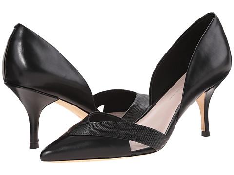 Aerin - Elaina (Black Calf/Lizard Print Calf) High Heels