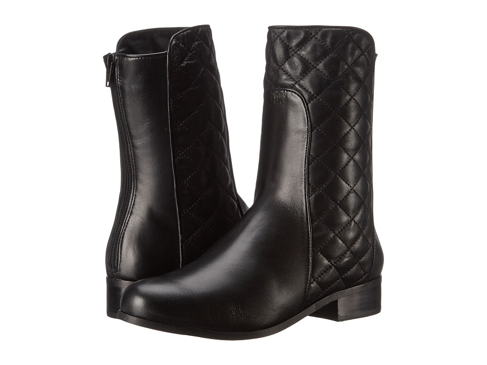 Vaneli - Reedy (Black Nappa/Black Quilted Nappa) Women's Boots