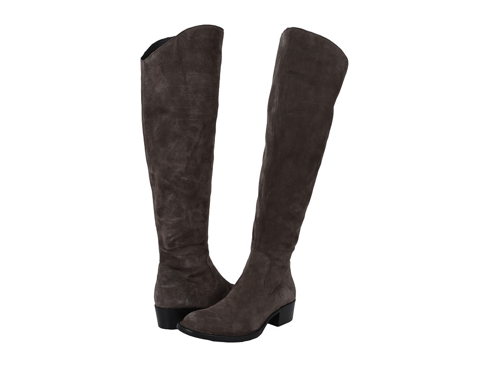 Born - Borda (Grey Suede) Women's Boots