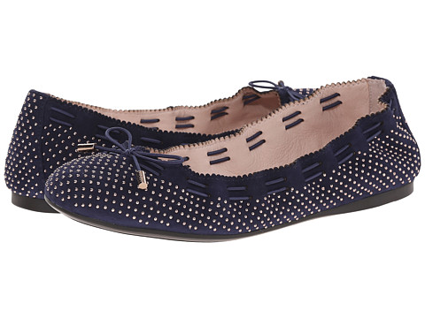 Aerin - Irene 2 (Navy Suede) Women's Flat Shoes
