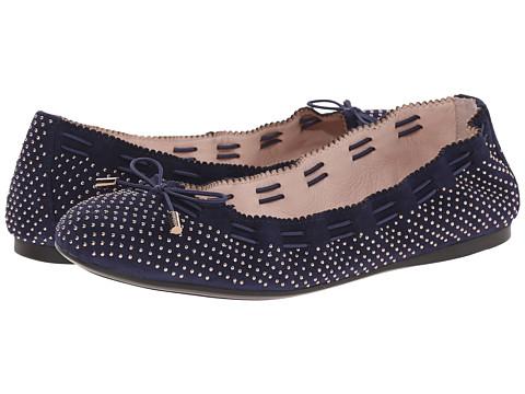 Aerin - Irene 2 (Navy Suede) Women's Flat Shoes