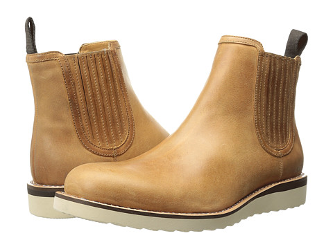 Armani Jeans - Chelsea Boot (Tan) Men's Pull-on Boots