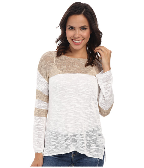 525 america - Hockey Jersey (Sandstone Combo) Women's Long Sleeve Pullover