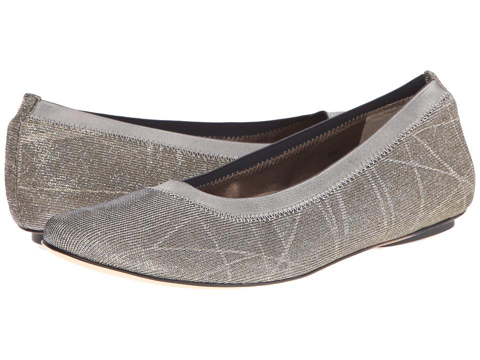 Vaneli - Sidol (Platinum Nizza Fabric/Mtch Met Elastic) Women's Slip on Shoes