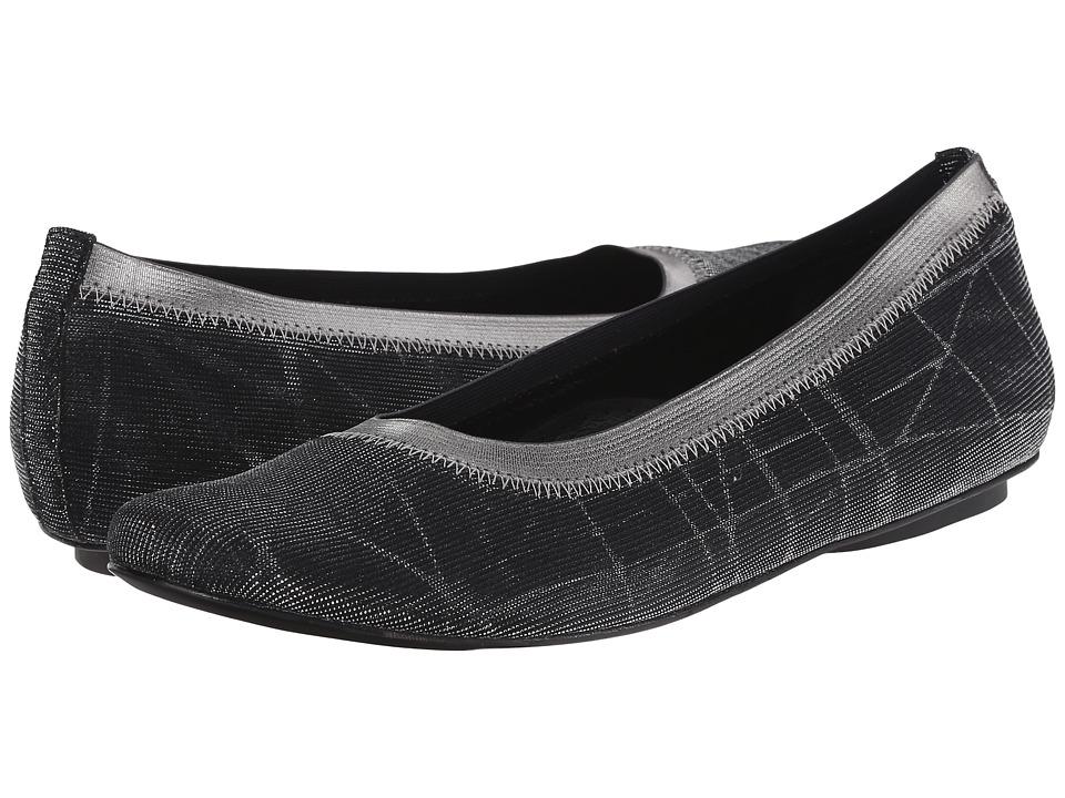 Vaneli - Sidol (Black Nizza Fabric/Mtch Met Elastic) Women's Slip on Shoes