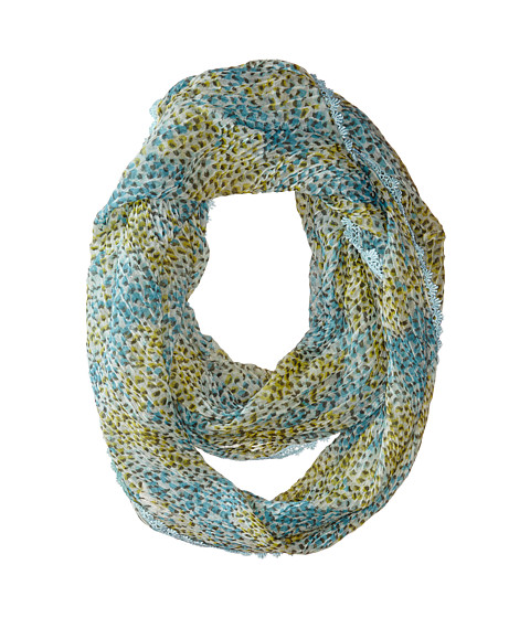 Betsey Johnson - Kitty Dot Infinity (Cool) Scarves