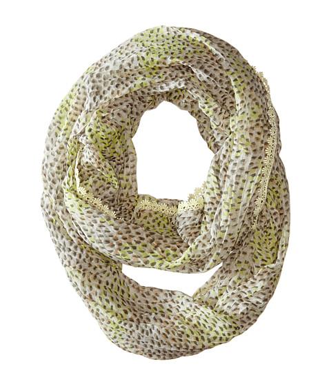 Betsey Johnson - Kitty Dot Infinity (Neutral) Scarves