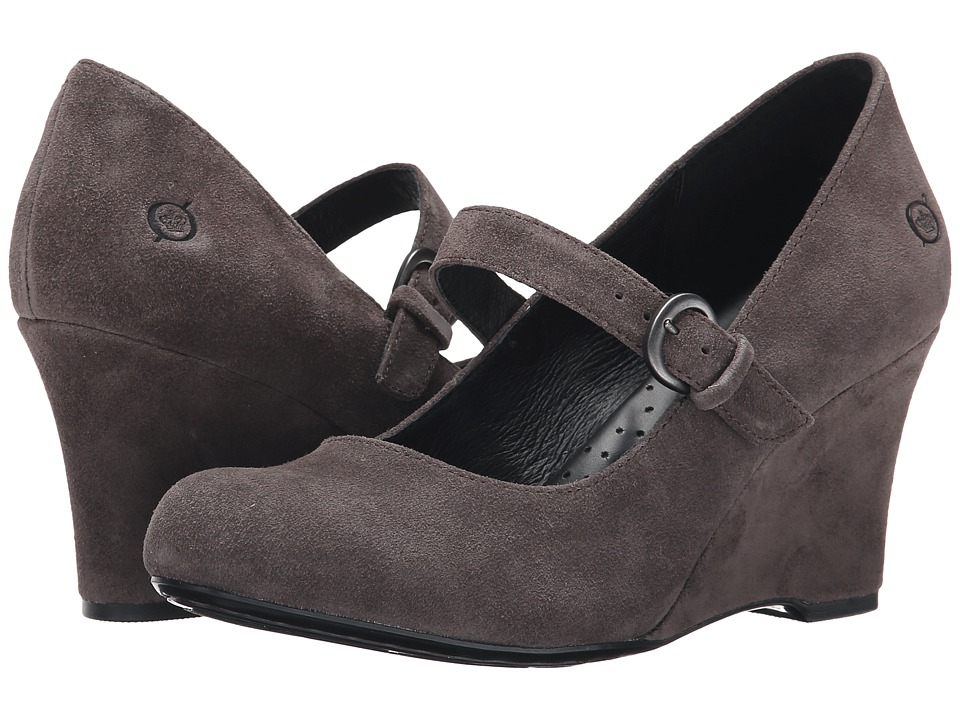 Born Jordana (Grey Suede) Women