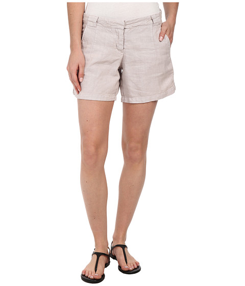 Dylan by True Grit - Ribbon Classic Shorts (Ice Grey) Women's Shorts