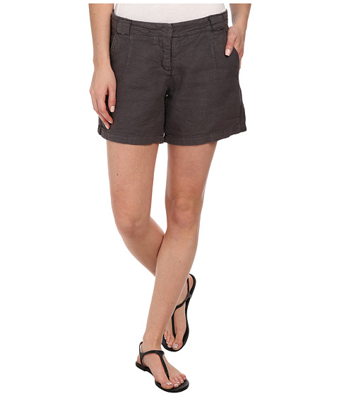 Dylan by True Grit - Ribbon Classic Shorts (Charcoal) Women's Shorts