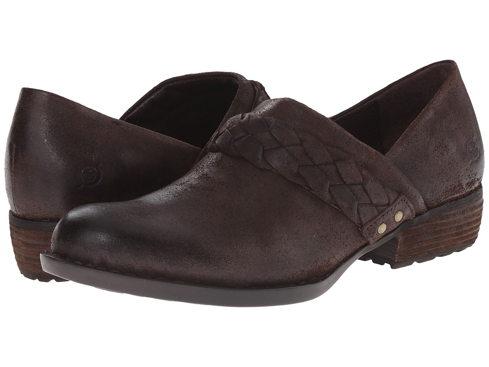 Born Hensley (Castagno/Dark Brown Oiled Suede) Women