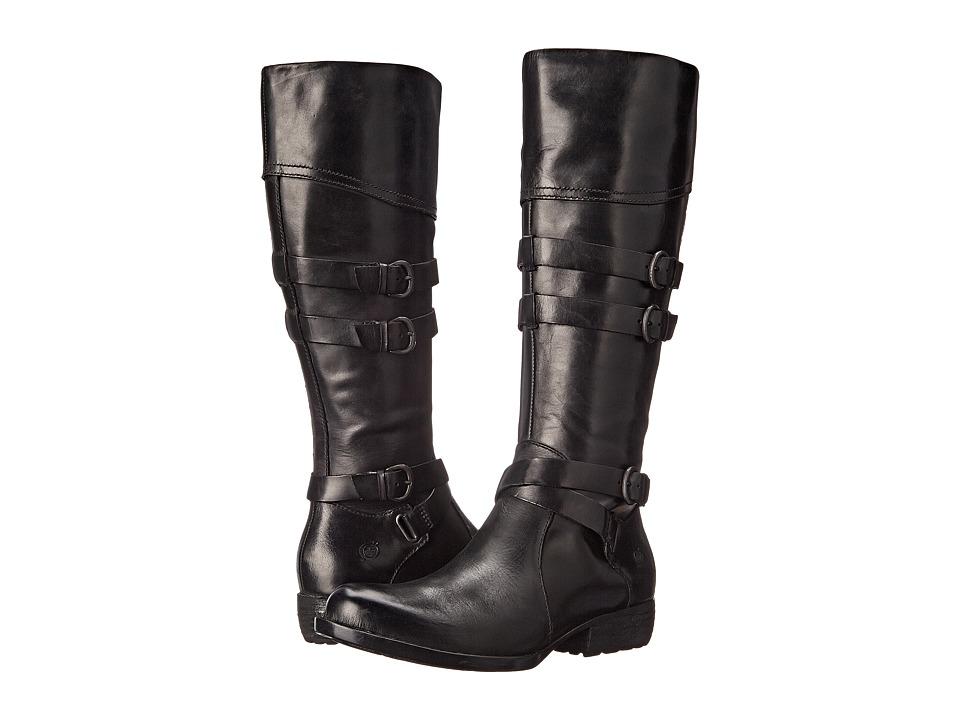 Born - Odom (Black Full Grain Leather) Women