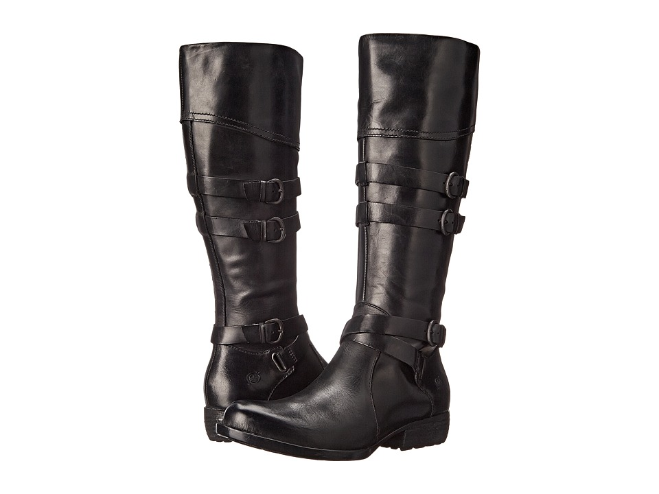 Born - Odom (Black Full Grain Leather) Women's Boots