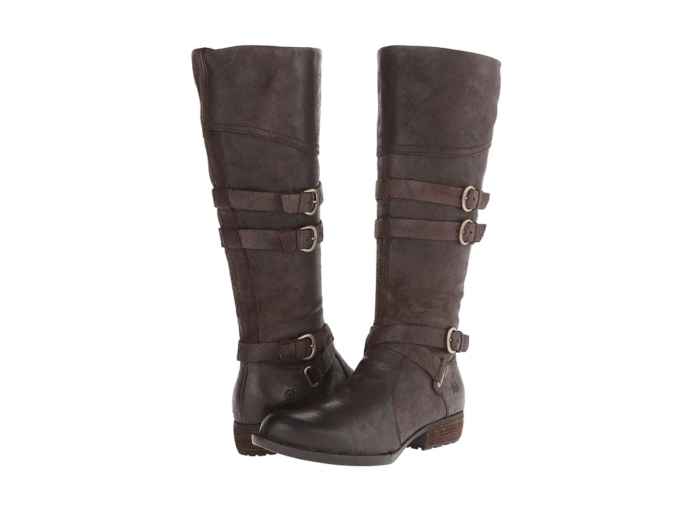 Born - Odom (Castagno/Dark Brown Oiled Suede) Women's Boots