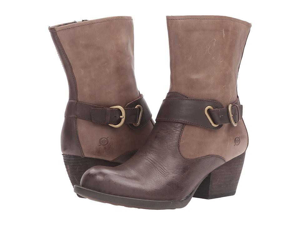 Born - Nevica (Espresso/Antilope/Dark Brown Combo) Women's Boots