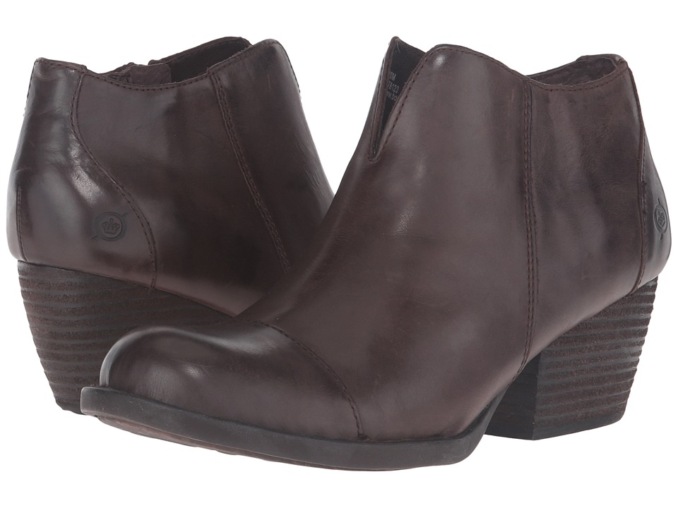 Born - Keya (Espresso/Dark Brown Full Grain Leather) High Heels
