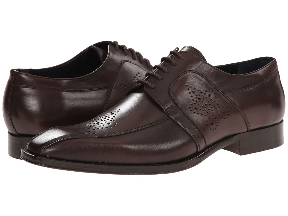 Messico - Cristiano (Brown Leather) Men's Dress Flat Shoes