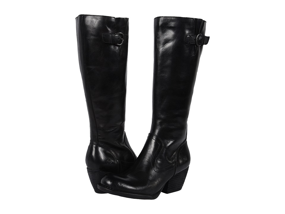 Born - Freeda (Black Full Grain Leather) Women's Boots
