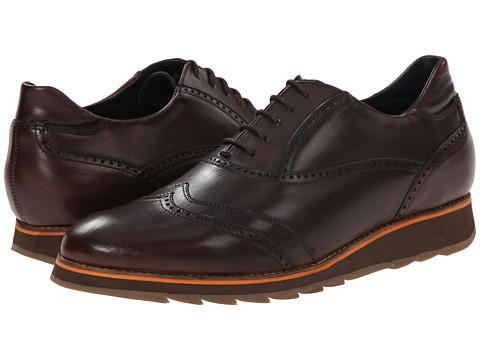 Messico - Orlando (Brown Leather) Men's Dress Flat Shoes