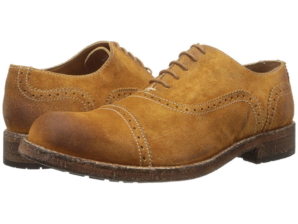 Messico - Guatavo (Honey Vintage Suede) Men's Dress Flat Shoes