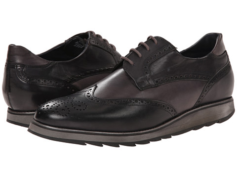 Messico - Pedro (Black/Grey Leather) Men