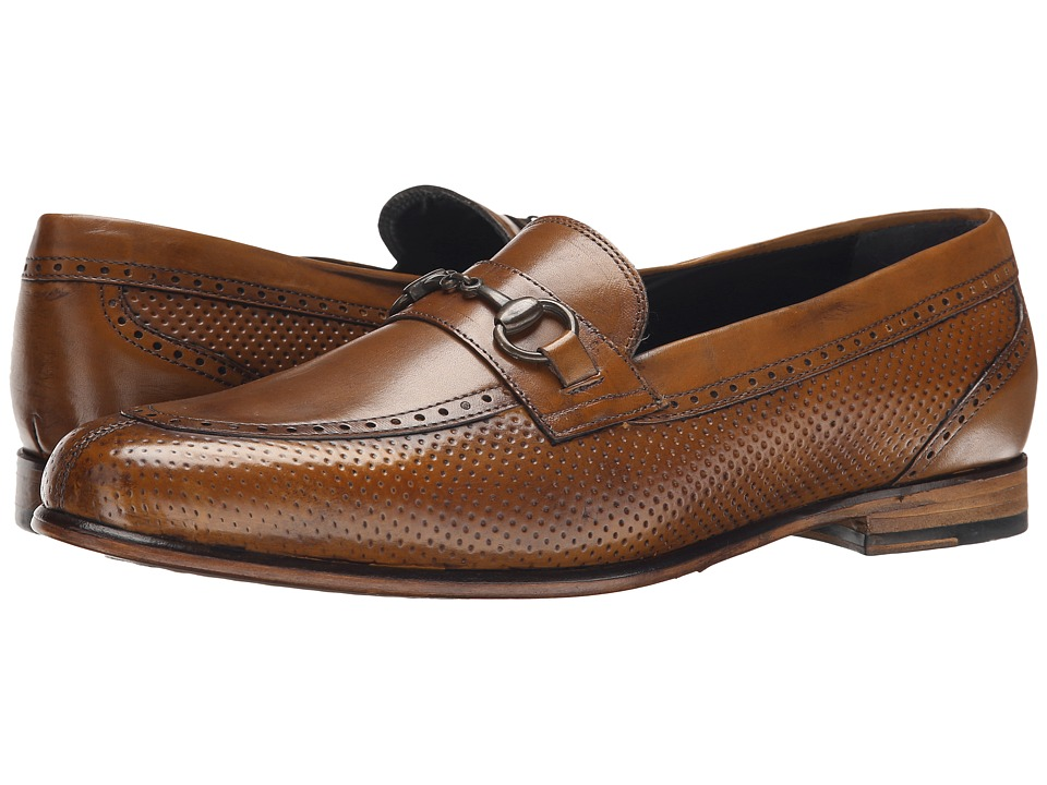 Messico - Josue (Honey Leather) Men's Dress Flat Shoes